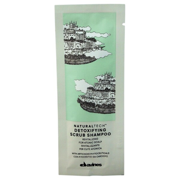 Davines Naturaltech Detoxifying Scrub Shampoo Sachet Kit 16256316