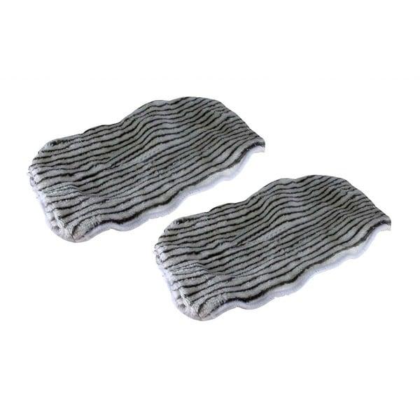 2 Shark Steam Mop Zebra Microfiber Pads Part XT3101