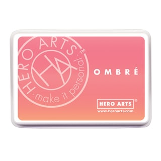Hero Arts Ombre Ink PadLight To Dark Peach