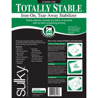 Totally Stable IronOn TearAway Stabilizer20inX3yd