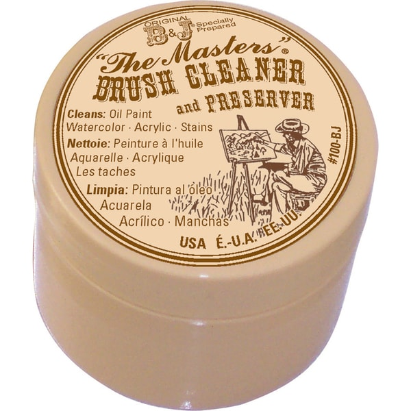 The Master's Brush Cleaner & Preserver1oz