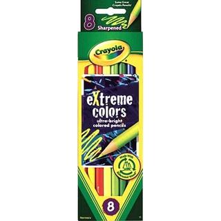 Crayola Extreme Colored Pencils8/Pkg Long