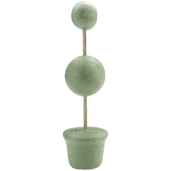 Topiary Forms Bulk 2in and 3in Balls 3in Base 14in TallGreen