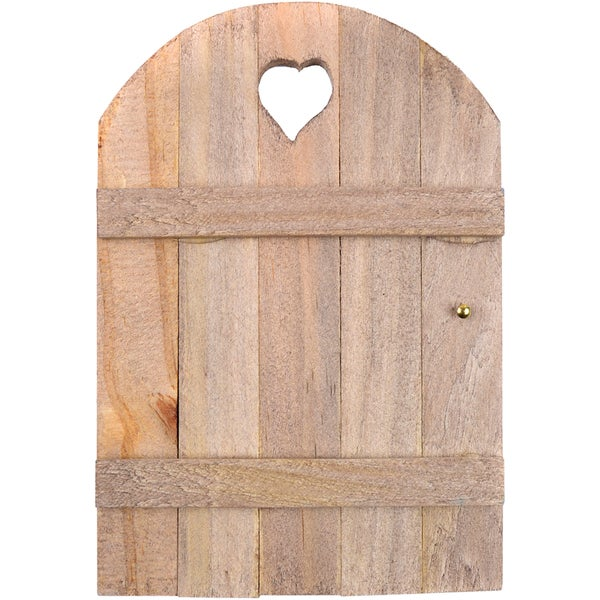 Mini Garden Fairy Door 6inX4inWood