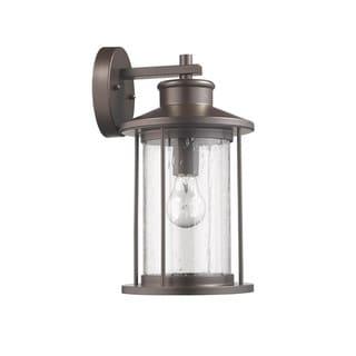 1-light Oil Rubbed Bronze Outdoor Wall Lantern