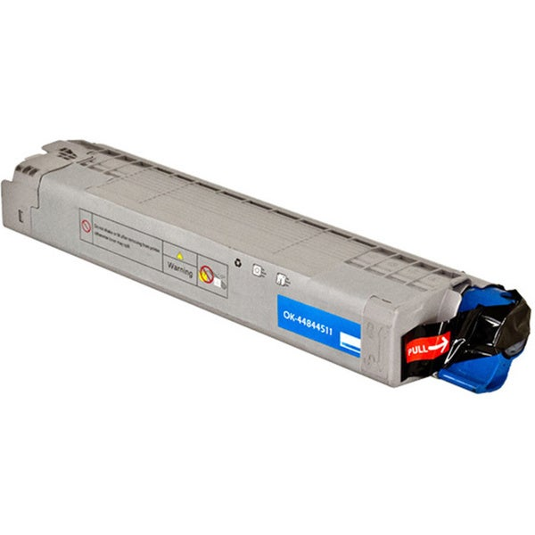 Cyan Toner Cartridge for Okidata M-series LaserJet Printers