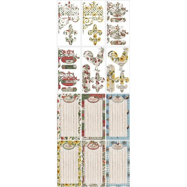 Country Kitchen Journal DieCuts Pack