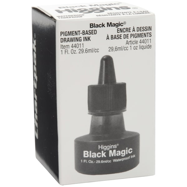 Higgins Magic Ink 1ozBlack