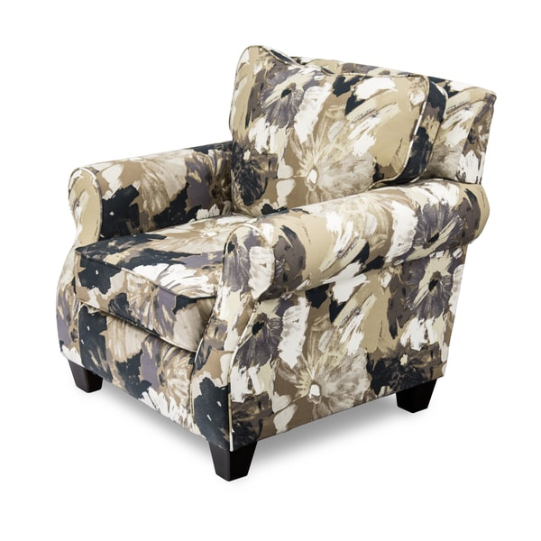 Furniture of America Ivelina Contemporary Floral Club Chair