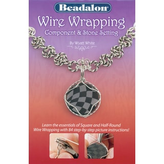 Beadalon BooksWire Wrapping Component & Stone Setting