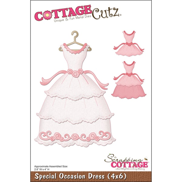 CottageCutz DieSpecial Occasion Dress 2.8inX4in