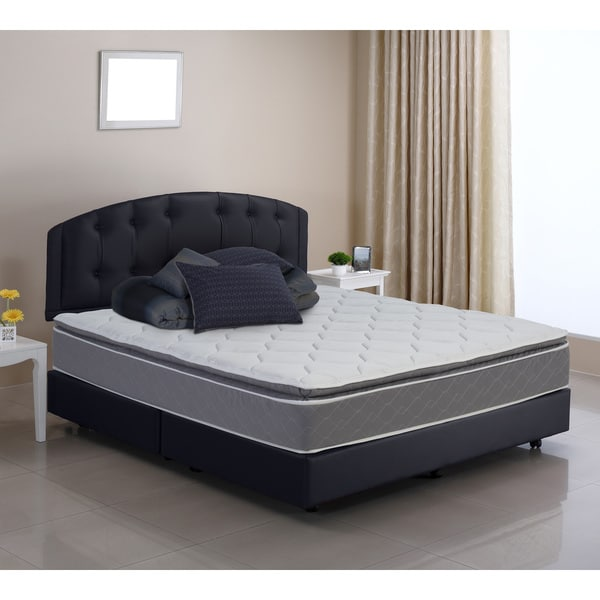 Pure and Simple Queen-size Pillow Top Foam Encased Innerspring Mattress