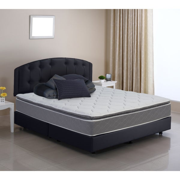 Pure and Simple Full-size Pillow Top Foam Encased Innerspring Mattress