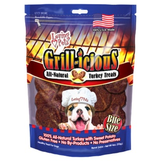 GrillIcious Bite Size Turkey Treats 4oz