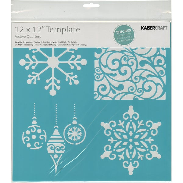 Template 12inX12inFestive Quarters