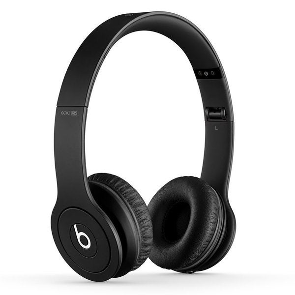 Beats by Dre Solo HD Drenched in Black On-ear Wired Headphones