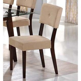 LYKE Home Westcott Mocha Side Chair