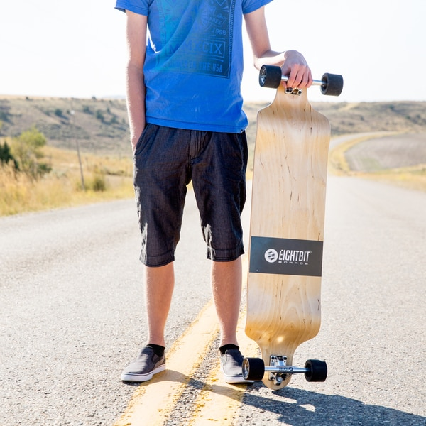 Eightbit 41-inch Drop Deck Longboard