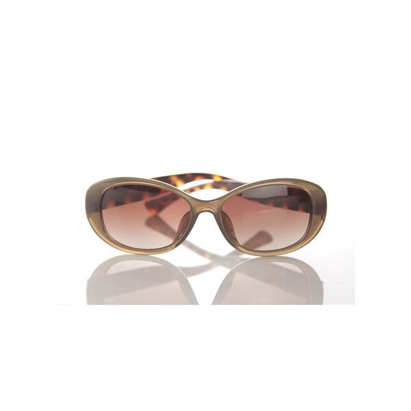 Coach Pollyanna Sunglasses 56MM HC8066 FL9 (Olive/Tortoise/Brown Gradient)