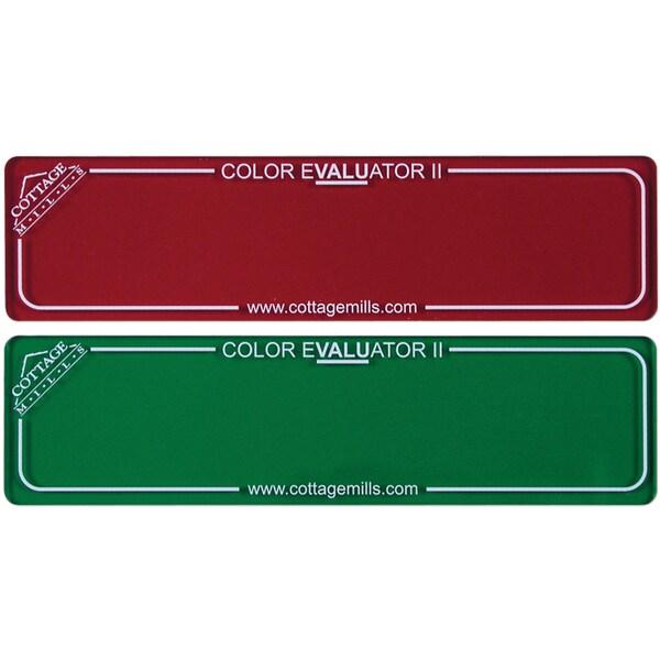 Color Evaluator II Red & Green Filter
