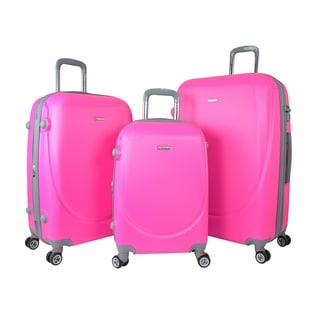 Traveler's Club Barnet 2.0 3-Piece Hardside Expandable Double-Spinner Luggage Set