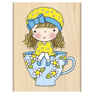 Penny Black Mounted Rubber Stamp 2.5inX3.25inSitting Pretty
