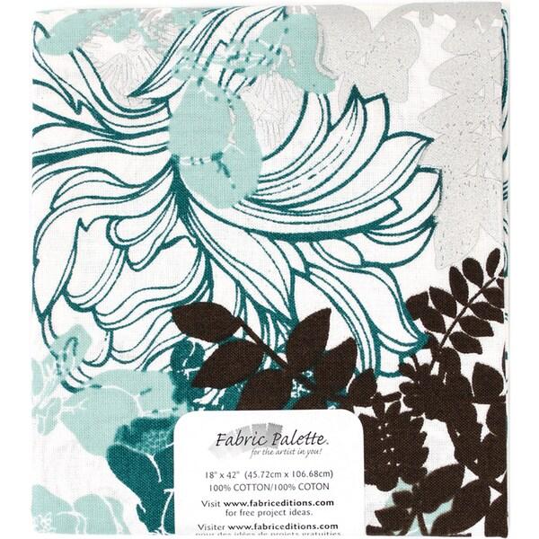 Melodic Floral Precut 18inX42in 1/PkgMelodic Floral A Multi