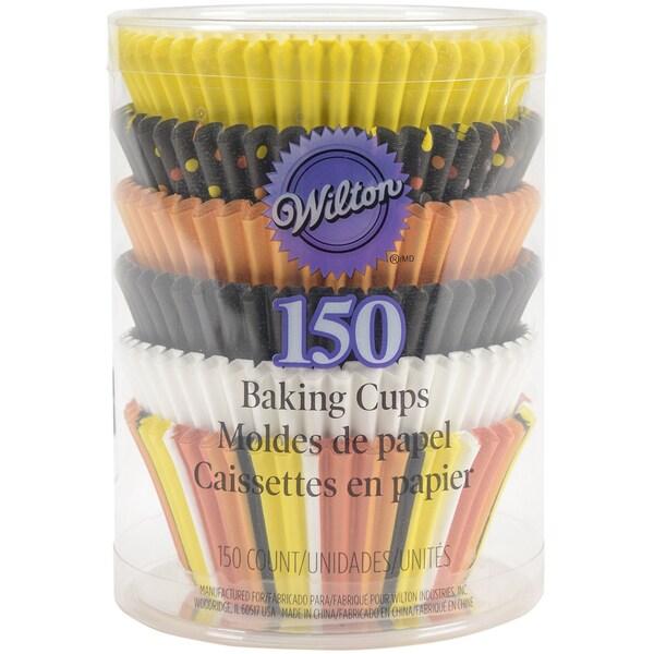 Standard Baking CupsCandy Corn 150/Pkg 16260275