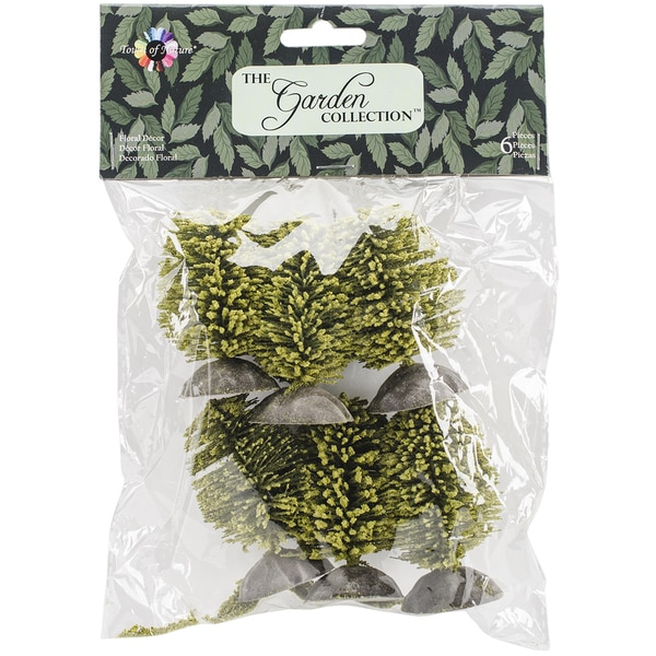 Green Bushes 6/Pkg2.25in