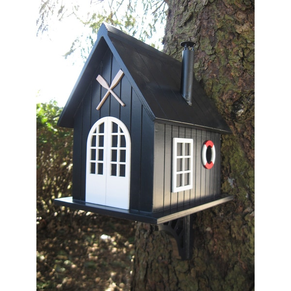 Home Bazaar Boat House Birdhouse