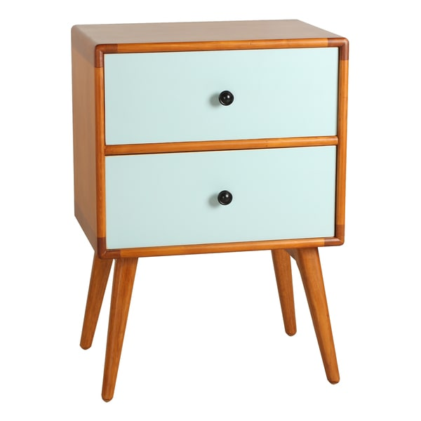 Tristan Mid-Century Modern Side Table - 17650741 - Overstock.com ...