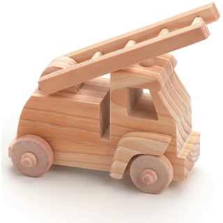 Wood Toy KitFire Truck