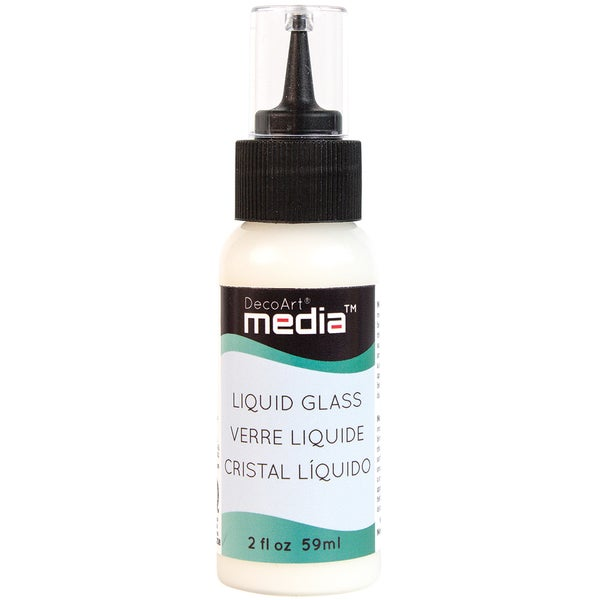 Media Liquid Glass 2ozClear