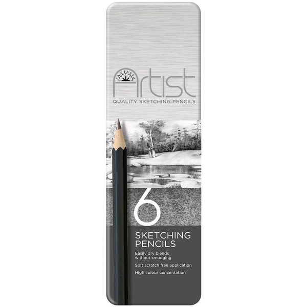 Fantasia Premium Sketch Pencil Set 6pc