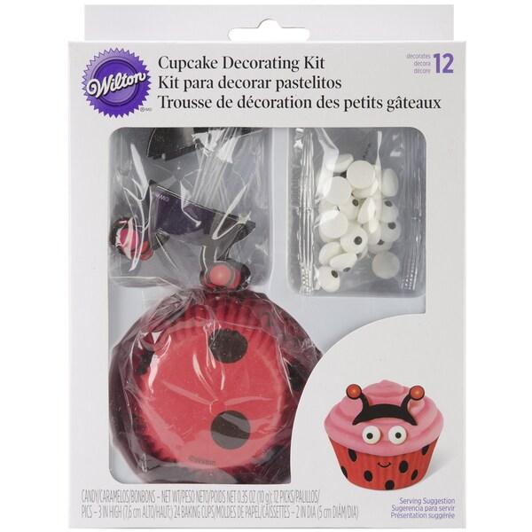 Cupcake Decorating Kit Makes 24Ladybug 16260377