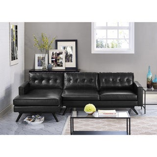 Clyde Antique Black Sectional