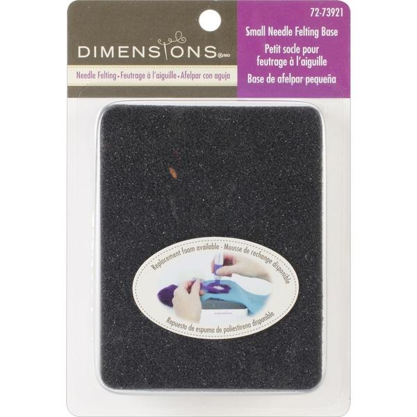 Dimensions Small Felting Base & Foam3.5inX4.5in