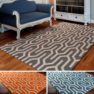 Hand-Tufted Abymes Wool Rug (8' x 10')
