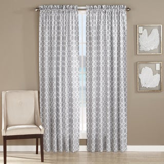 Tommy Bahama Catalina Trellis Window Panels in 2 colorways