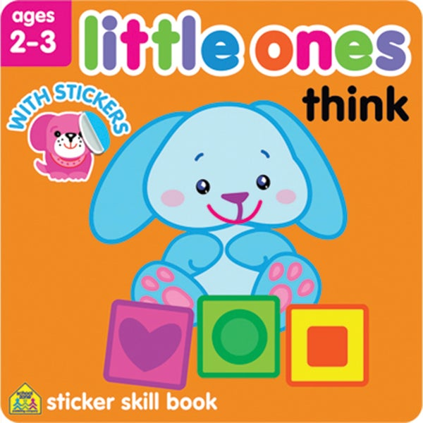 Little Ones Sticker Skill BookThink Ages 23
