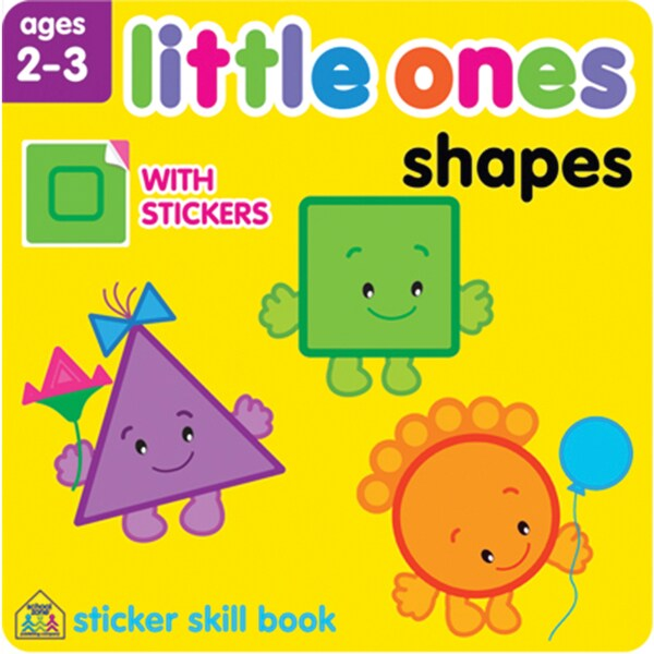 Little Ones Sticker Skill BookShapes Ages 23