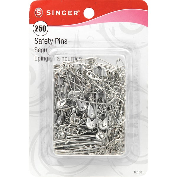Safety PinsSizes 0 To 2 250/Pkg