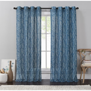 VCNY Adriana Grommet Curtain Panel