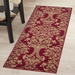 "Windsor Home Oriental Rug - Red & Gold - 1'8""x5'"