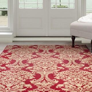 "Windsor Home Oriental Rug - Red & Gold 5'x7'7"""