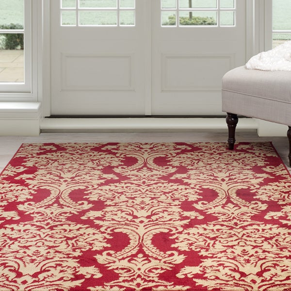 Windsor Home Oriental Rug - Red & Gold 8'x10'