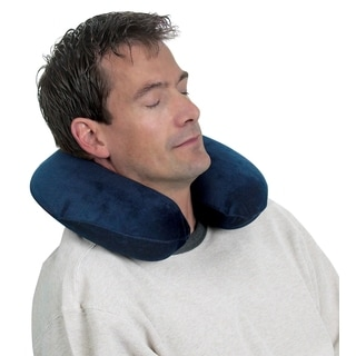 AB Marketers Memory Foam Travel Neck Pillow