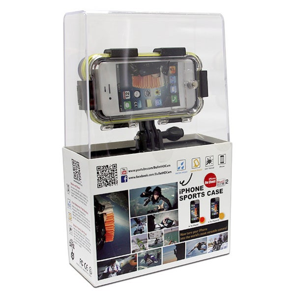 iMountZ Sport Bullet HD Waterproof Hard Case + Mount for Apple iPhone 5