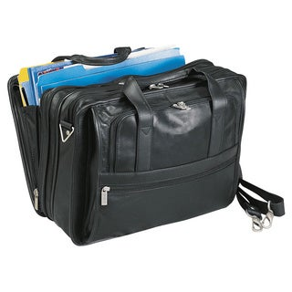 Bellino Expandable Napa Leather Briefcase