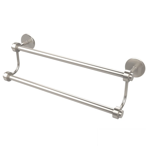 Satellite Orbit Two Collection 24-inch Double Towel Bar